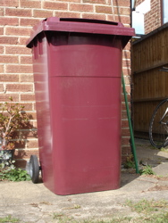 Bin numbering project: the bin before starting