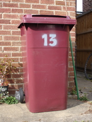 Bin numbering project completed